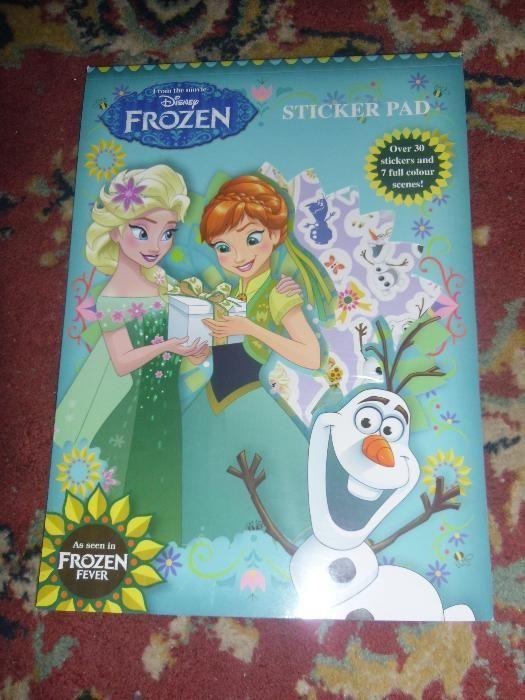 stikere Frozen pt hartie,noi