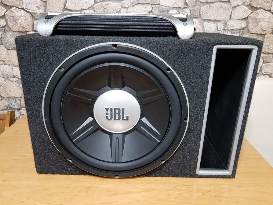 Vând subwoofer JBL gto1514 + amplificator auto JBL gto 75.4