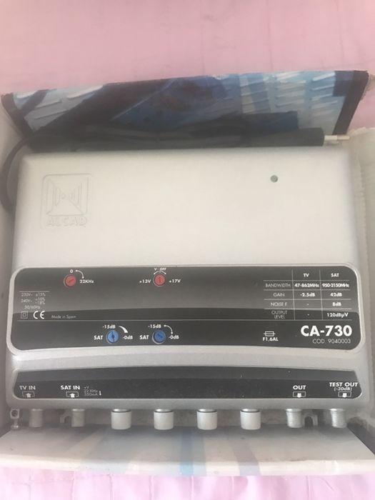 Amplificator fi-sat de distributie/amplificator ALCAD CA-730