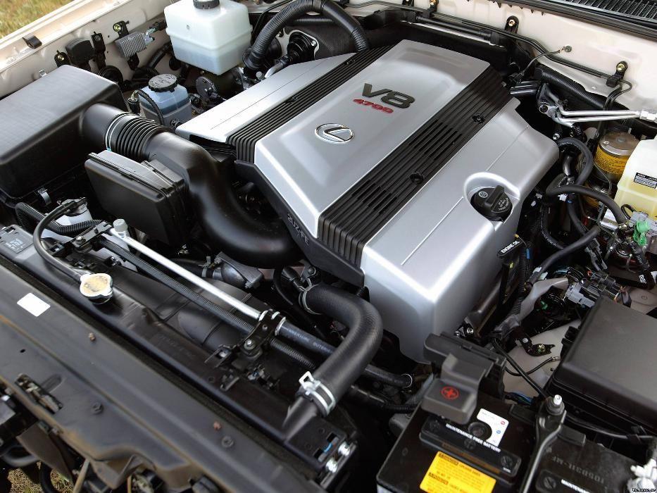Двигатель Lexus LX470 4, 7 л. 2UZ-FE 272 л. с VVT-I (Рестайлинг)
