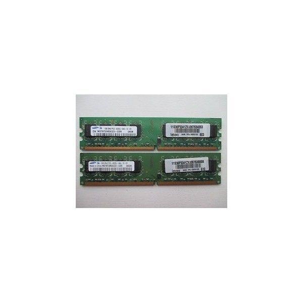 kit memorie desktop samsung 2 gb ( 2x1 gb ) ddr2 800 mhz pc2-6400
