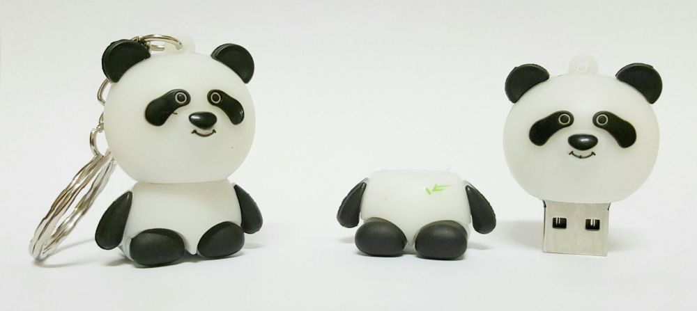 Chaveiro Flash Panda 8Gb