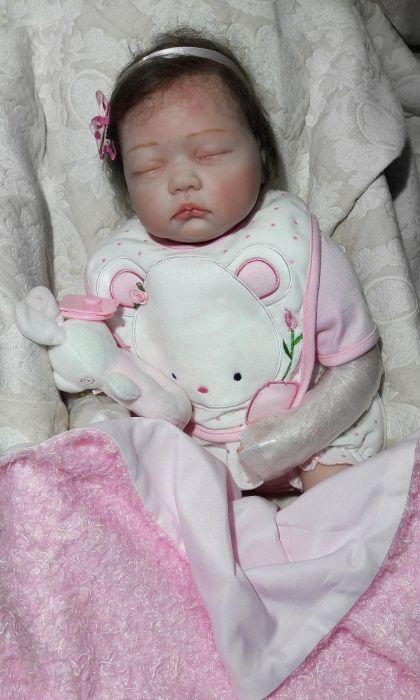 Кукла Реборн спящая