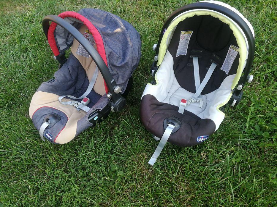 Бебешки кошници Chicco +подаръци седалки