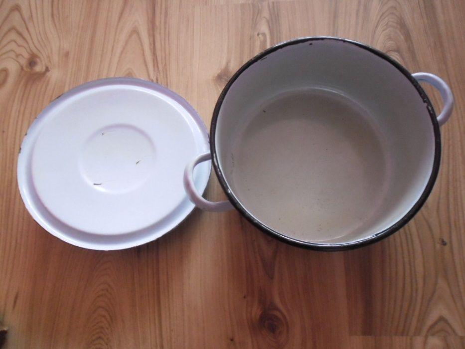 емайлирани тенджера и тава от по-дебел материал от соца