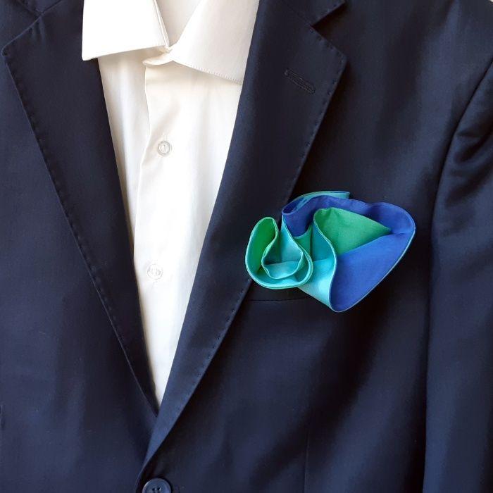 Луксозни мъжки кърпички от коприна