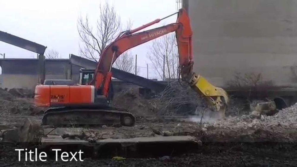 Demolari cu utilaje mecanizate si demolari manuale(spart beton)