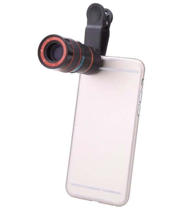 Tele obiectiv (zoom) pentru telefon/tableta (smartphone)