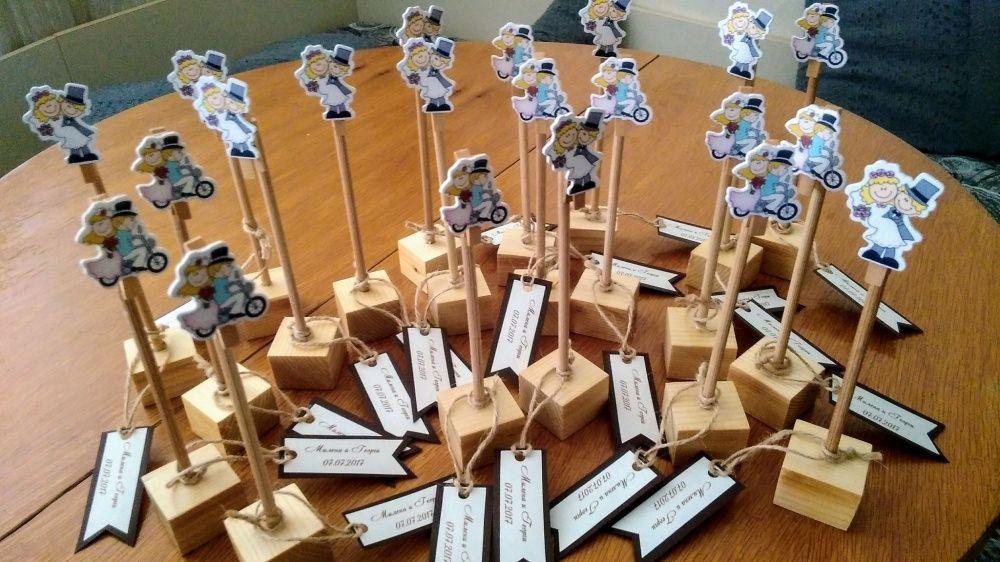 Ръчно изработена дървена стойка за снимка/поставка за тейбъл картичка гр. Асеновград - image 3