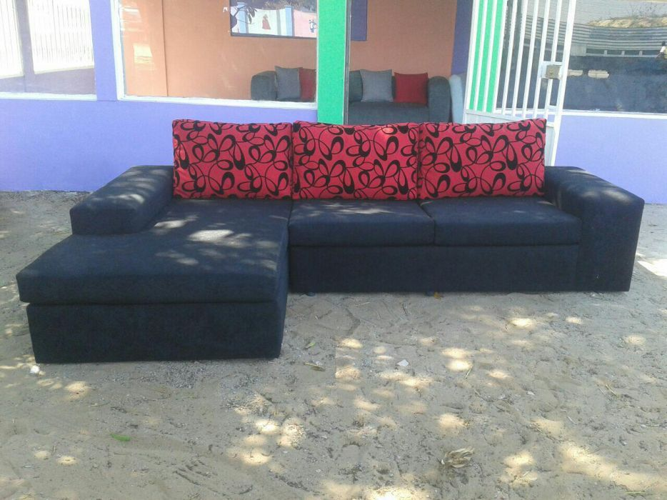 Sofas modernos do tipo L avenda