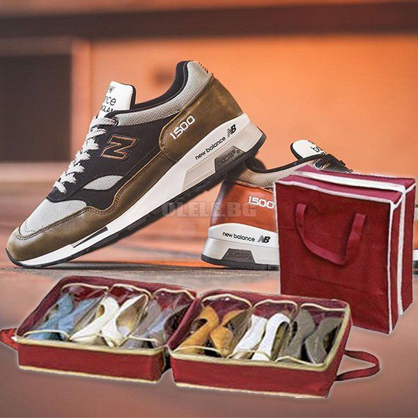 Органайзер-чанта за 6 чифта обувки