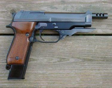 Pistol pe Co2 Airsoft Beretta/Taurus cu gaz (Modificat)