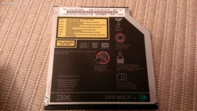 DVD-RW slim Laptop IBM Lenovo Thinkpad T42 T4X