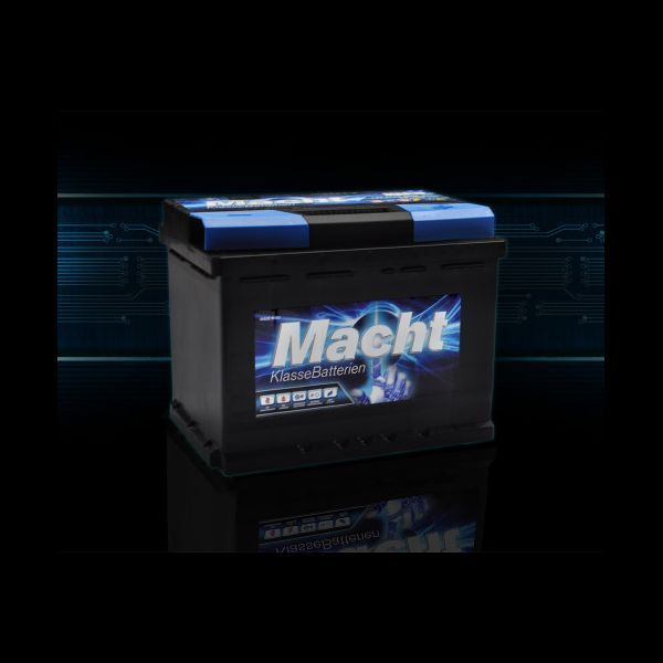 Baterie Auto MACHT 12V 55 Ah (480 A; 242X175X190)