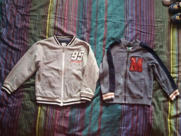 Hanorac,jacheta,geacă H&M Cars si Benetton băieti baieti măr.4-6ani