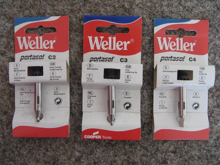 Varfuri pt letcon gaz Weller Portasol WC1, modele C2, C3, C4, NOI