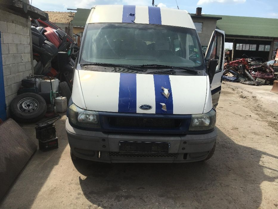 ford transit 2.4 на части форд транзит