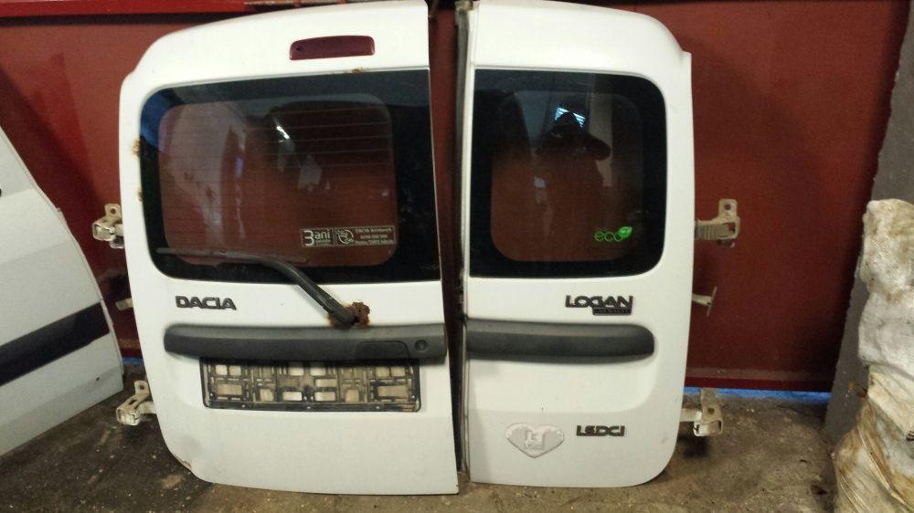 Ușă dreapta spate batanta alb si visiniu Dacia Logan Mcv, MCV facelift