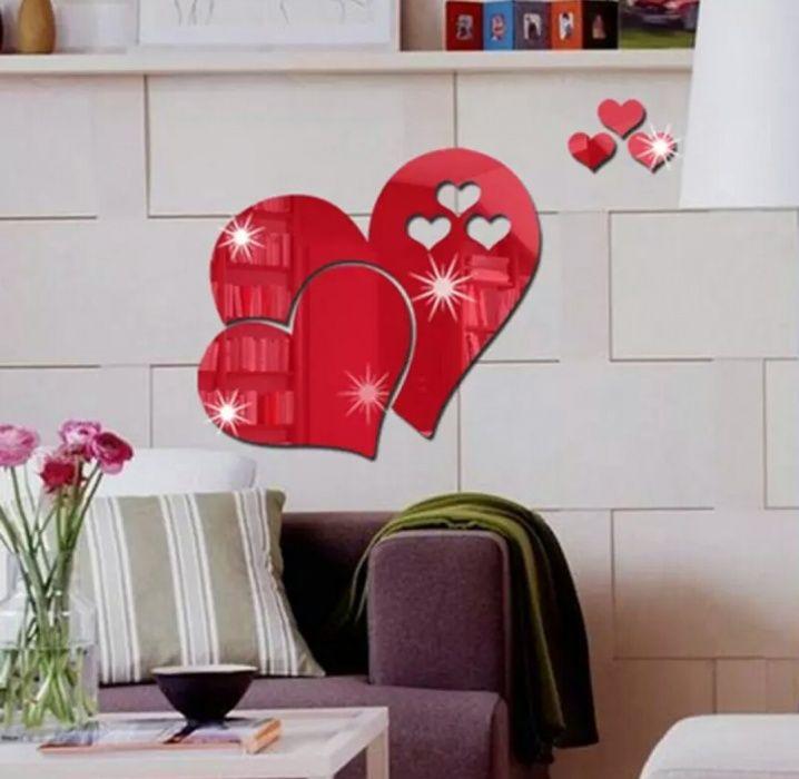 Autocolant oglinda 3D inimi