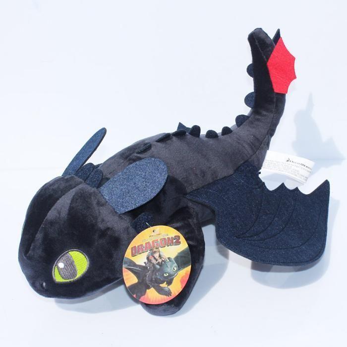 """Плюшена играчка Дракон плюшен """"Беззъб"""" подарък """"Как да си дрес"""
