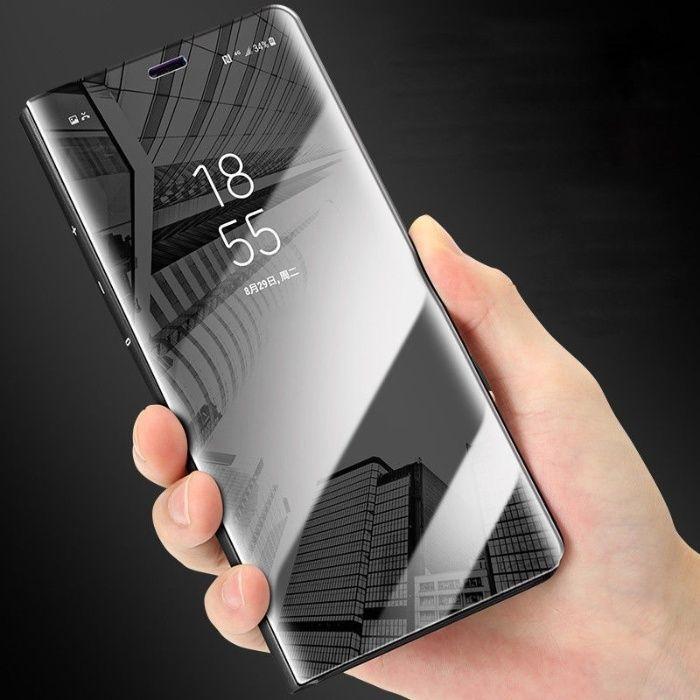 Husa Smart Clear View Samsung A8 2018, A8Plus 2018