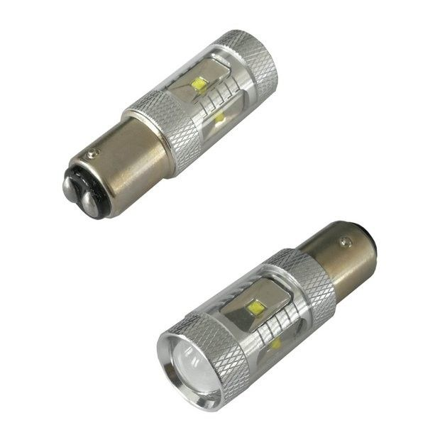 Bec led auto P21/5W 1156 BAY15D 30W CREE ALB