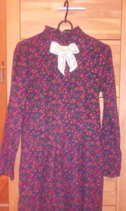 rochie din catifea reiata fin