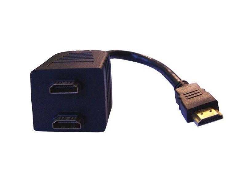 Разклонител-сплитер HDMI м. 2хHDMI ж.