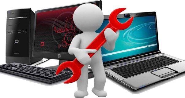 Качественный ремонт ноутбуков,мониторов,компьютеров,заправка картриджа