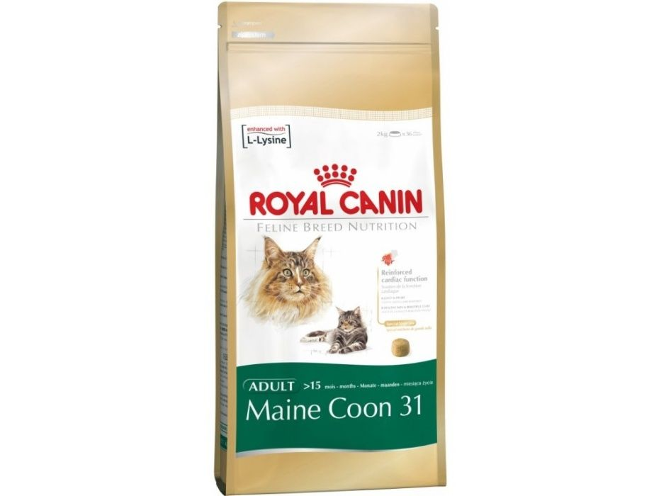 Корм для кошек Royal Canin MAINE COON 31 4 КГ