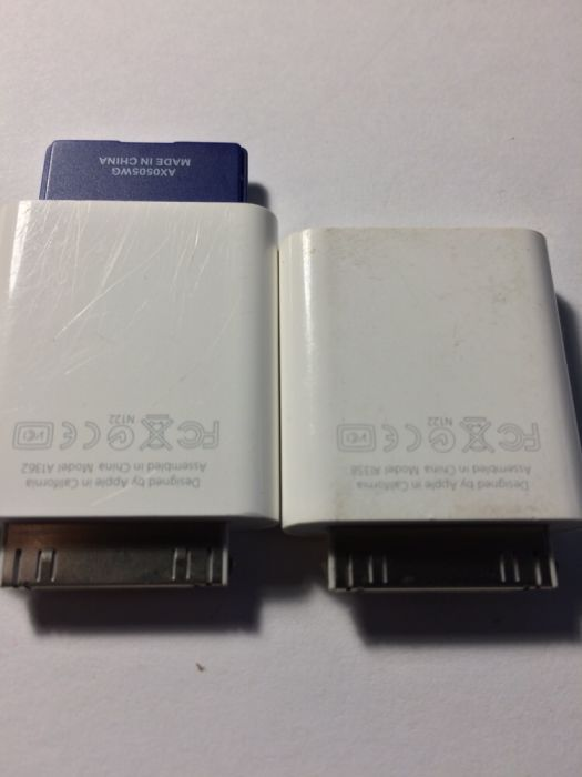 Adaptor Card SD, USB camera Apple, A1362, A1358