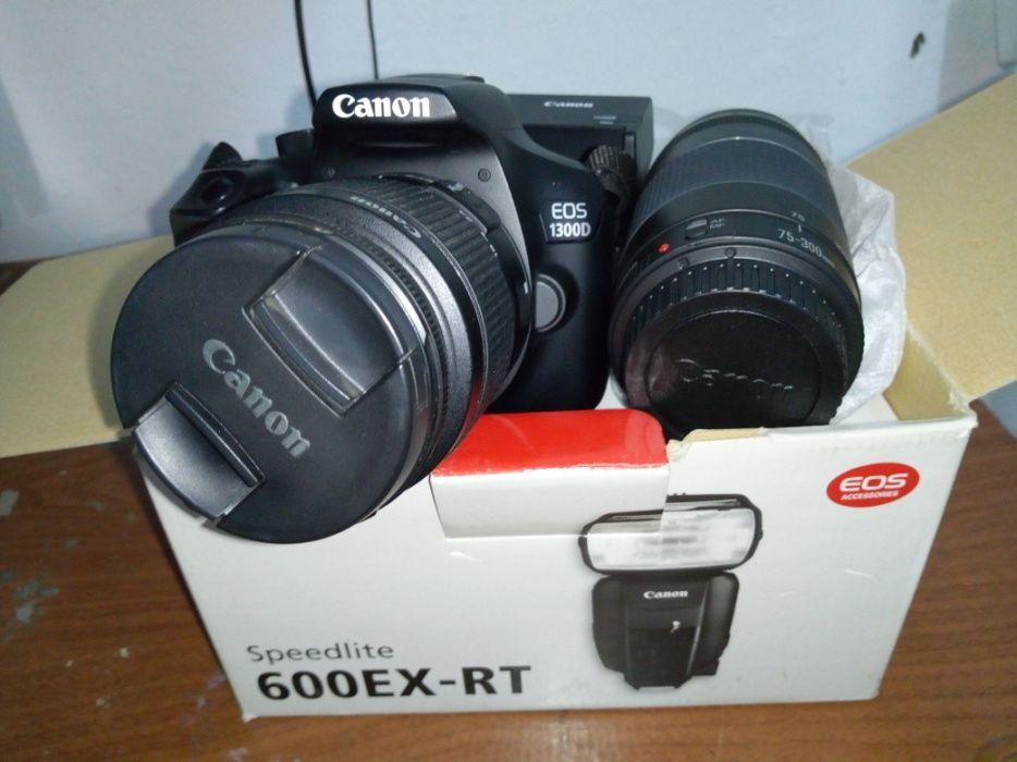 Vendo Canon EOS 1300D - Nova na Caixa
