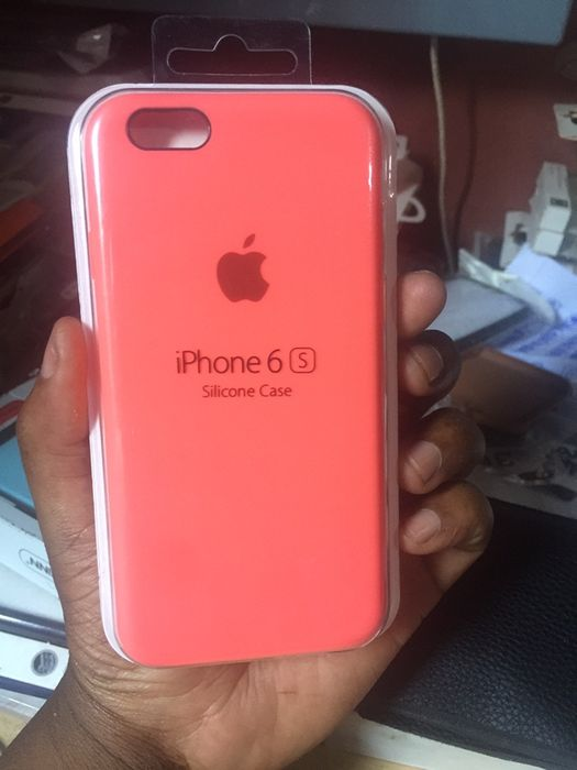 Silicone case rose for iPhone 6/6s
