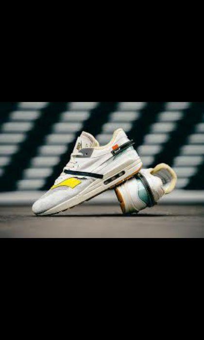 """Nike Air Max """"1"""" Off White"""