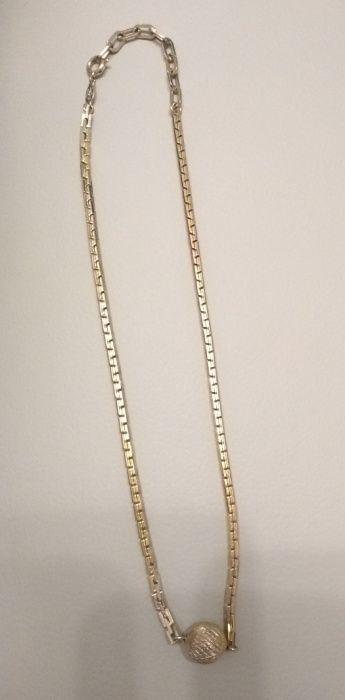 Colier metal auriu vintage