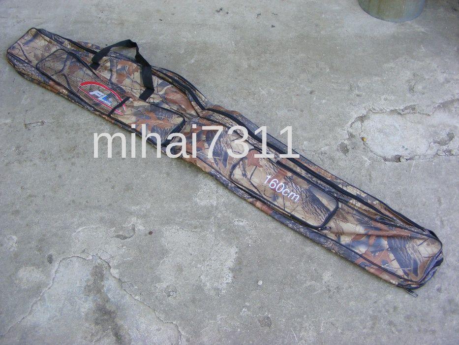 Husa 1,6m - Geanta - pentru lansete crap de 3,9m