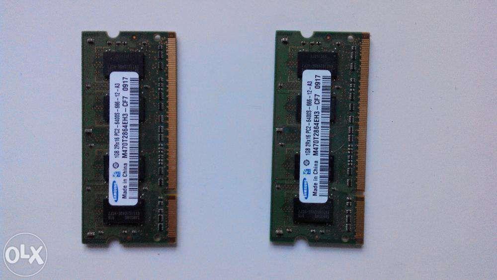 RAM DDR2 1 GB Macbook 5.1 A1181 piese de schimb