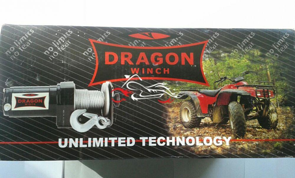 Troliu Atv Dragon Winch 2500 LBS Bucuresti - imagine 5