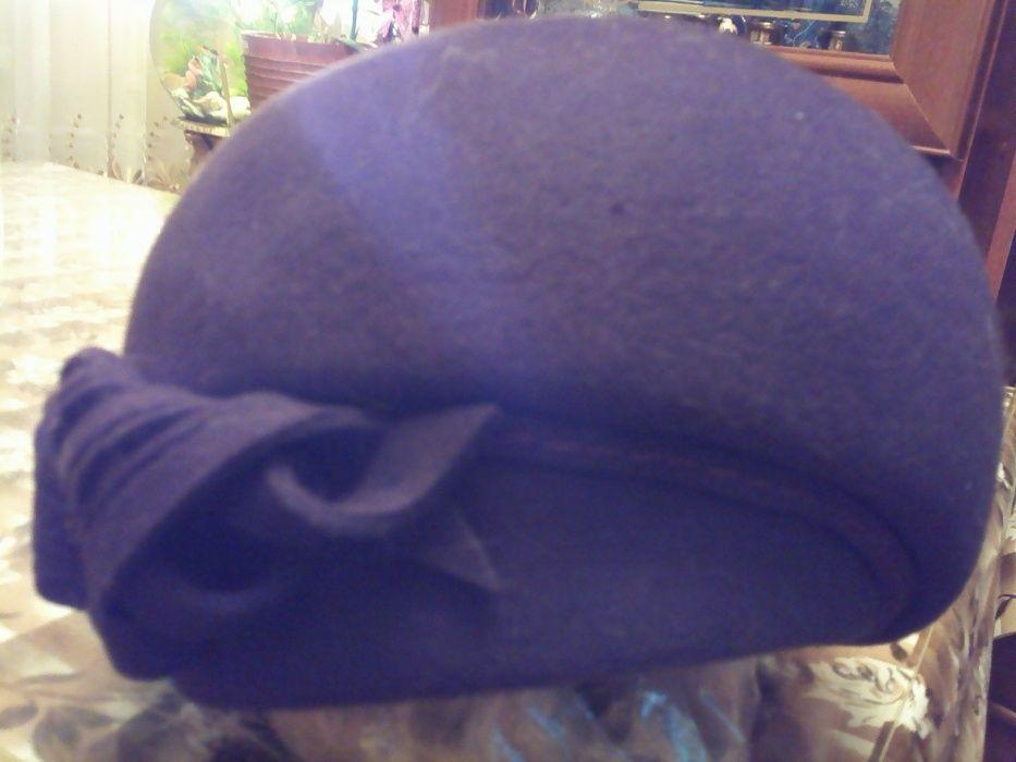 женская фетровая шапка 57-58 р