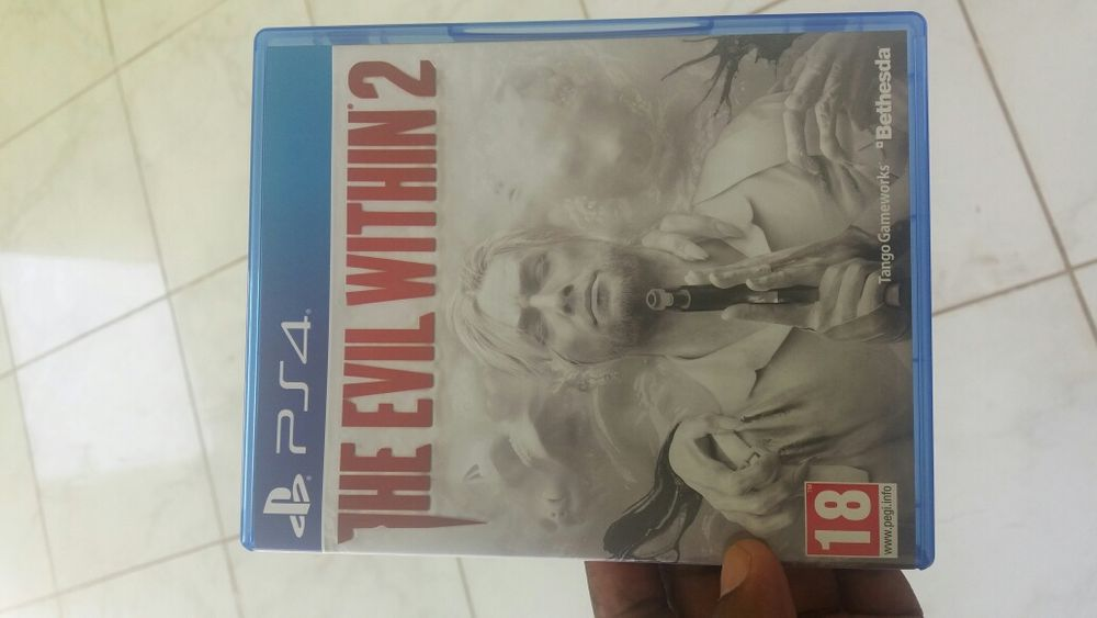 Jogo The Evil Within 2 PS4