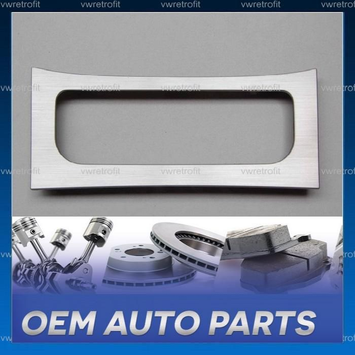 Rama panou climatronic VW Passat B6 B7 CC 3C8863100A brush aluminiu