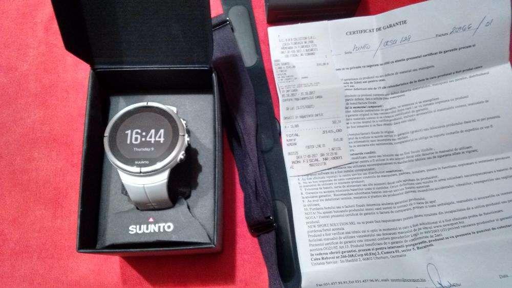 Smartwatch SUUNTO Spartan Ultra White HR