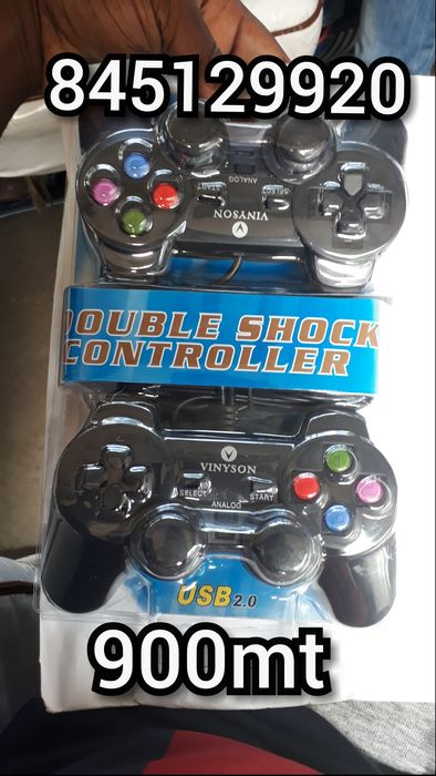 Vendo joystick duplo para desktop