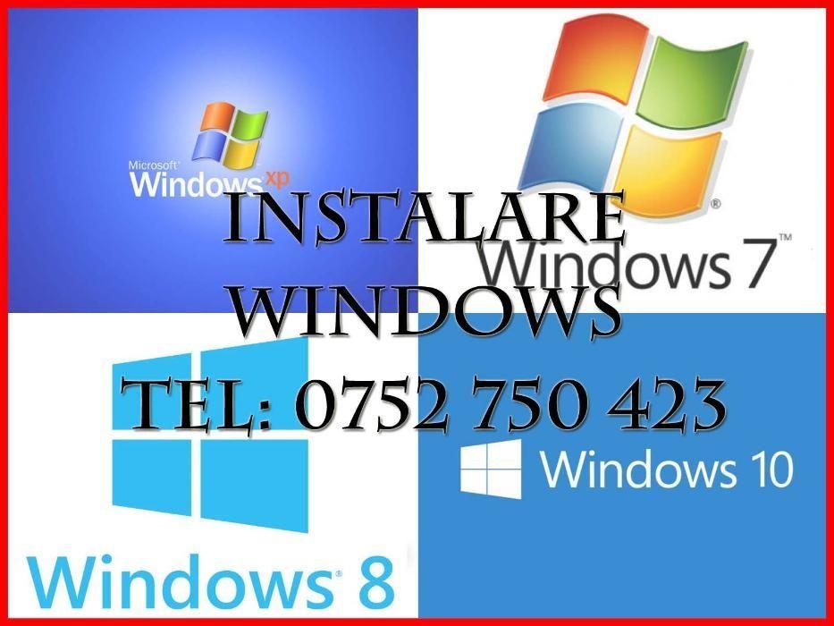 == Instalare WINDOWS Xp, 7,8,10 +drivere+programe ==