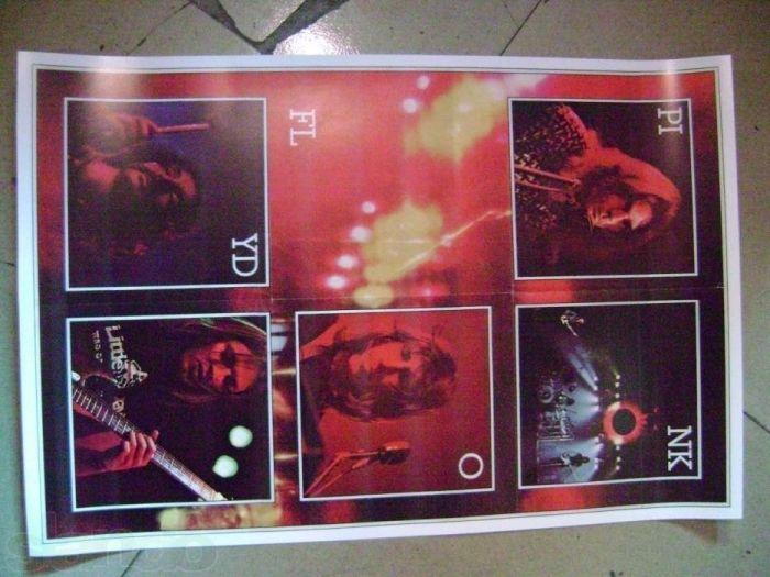 постер(плакат) Pink Floyd