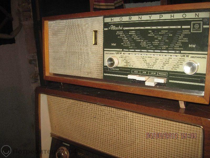 стар радиоапарат