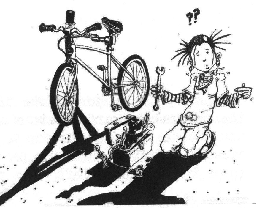 Reparação e manutenção de bicicletas