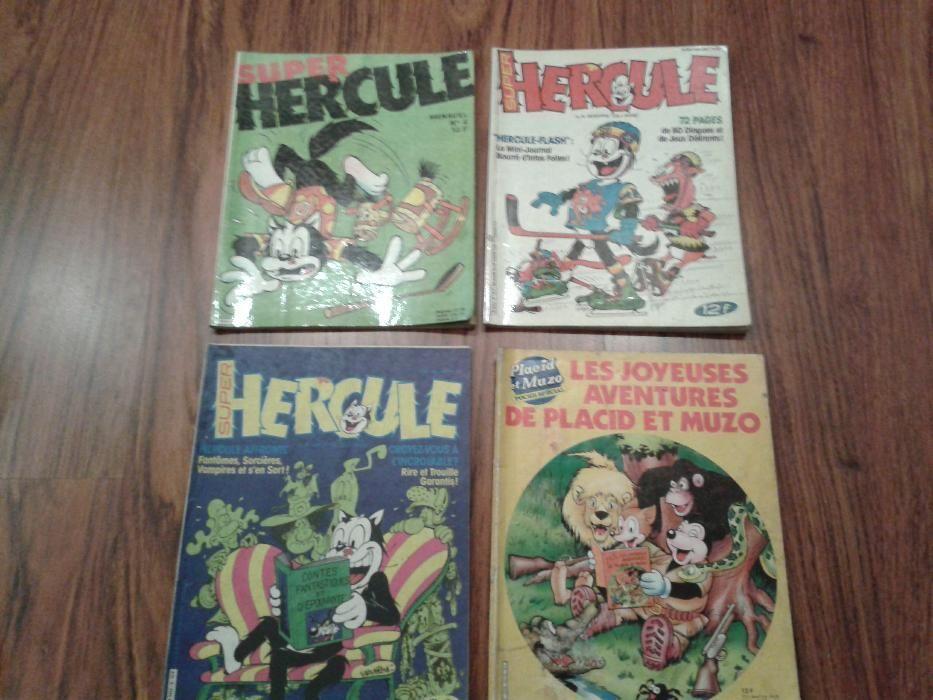 """Комикси-""""Super Hercule"""",""""Pifou"""",""""Placid et Muzo"""""""