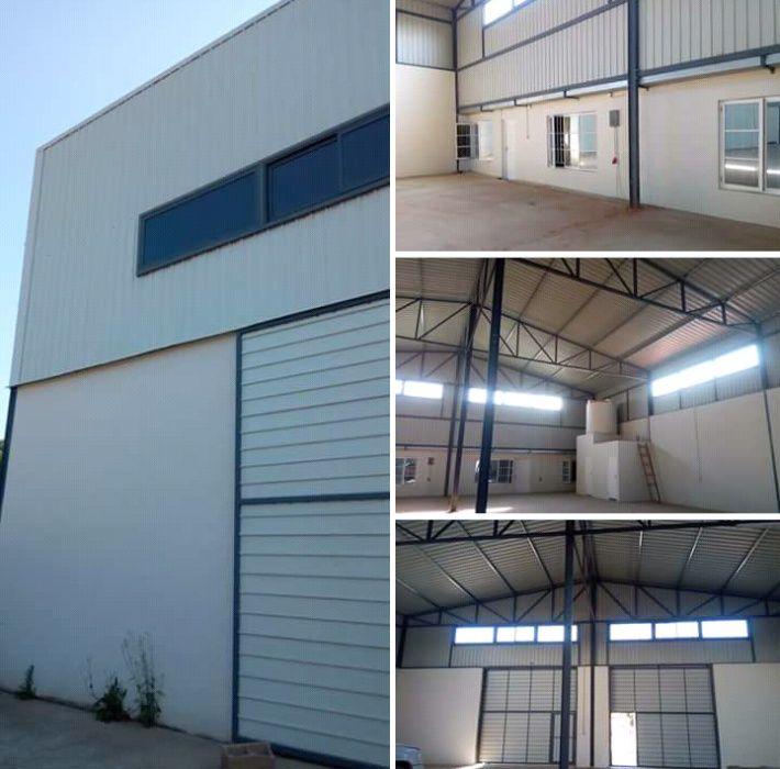 Armazém com 800 m², loc.. ao ldo da esquadra ds Santos-Matola