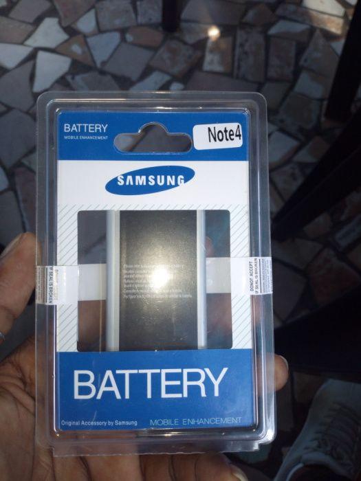 Bateria de note 4